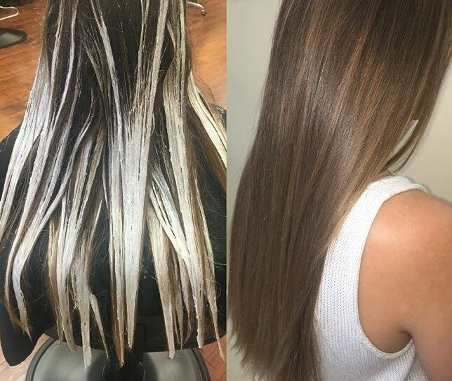 Babylights Hair Color
